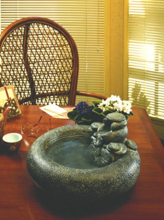 Serenity Tabletop Fountain - Soothing Walls