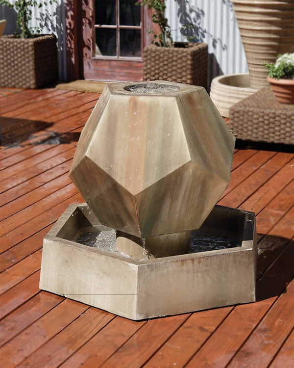 Twelve-Side Garden Fountain - Soothing Walls
