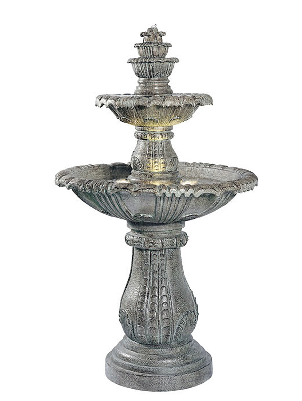 Venetian Outdoor Tiered Fountain