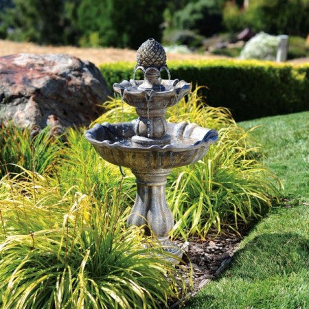 Patella Fiberglass Garden Water Fountain