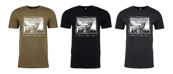 PRE-ORDER! Elk Addict Wyoming State T-shirt