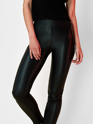 OT leggings Black leather