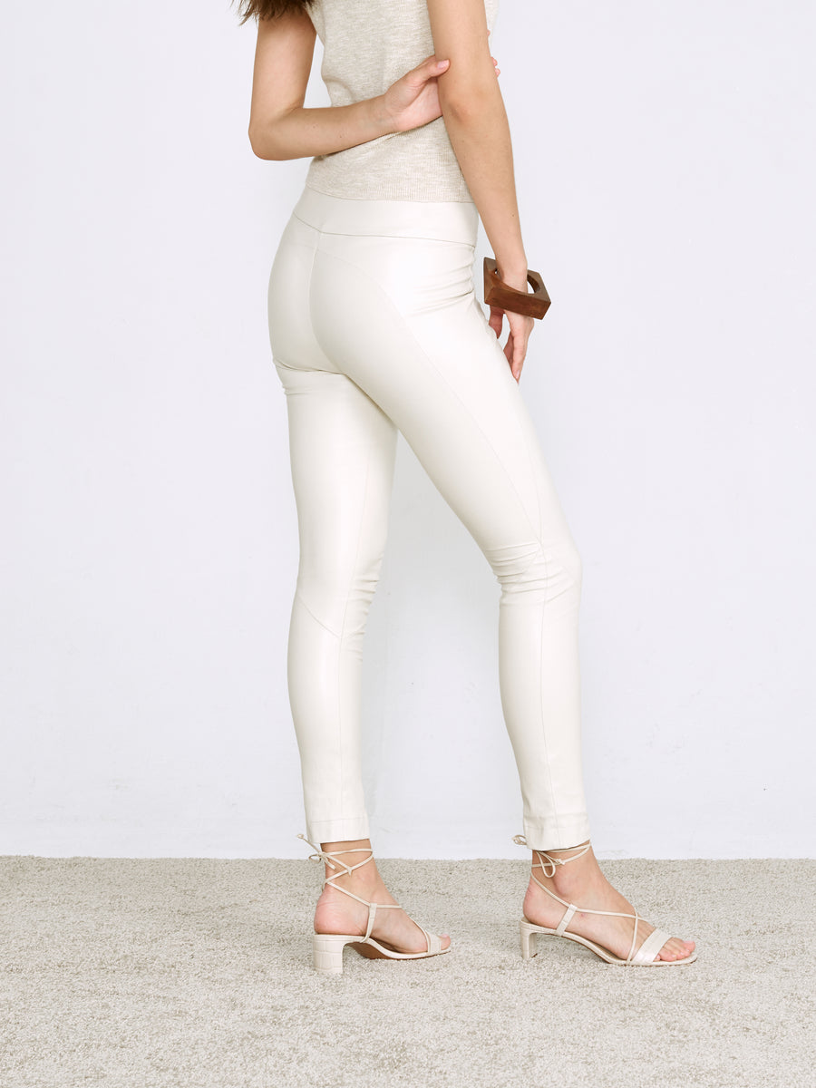 OT LEGGINGS CLAY LEATHER - OUT OF STOCK