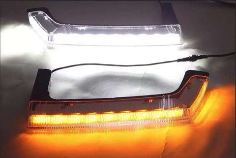 Jeep Wrangler Daytime LED Running Lights with Directional Function