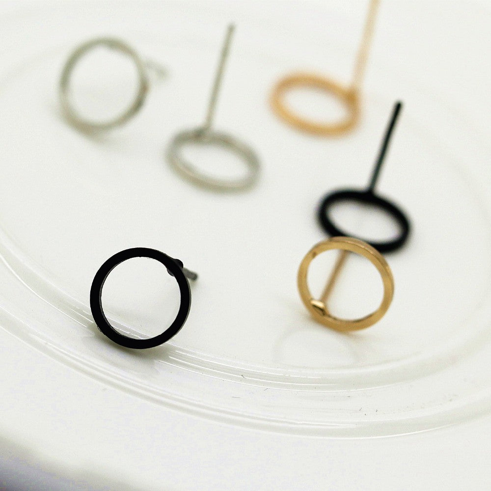 "Chic ""O"" Shape Earrings"
