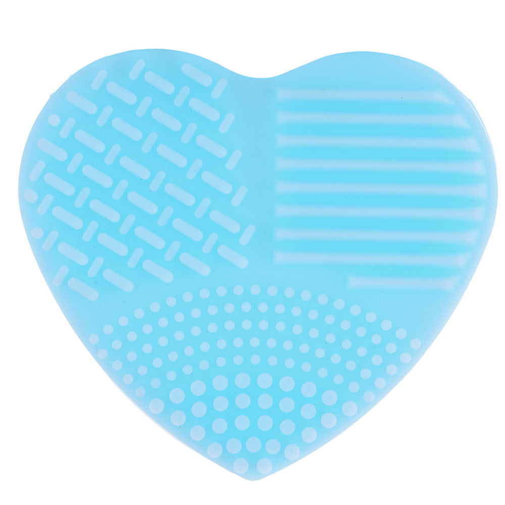 Heart Shaped Make Up Brush Cleaner