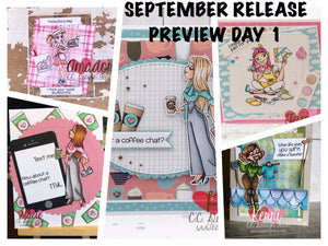 September Preview Day 1: NEW Girls and Coordinating Die Sets
