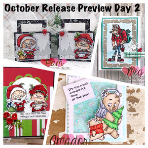 OCTOBER PREVIEW DAY 2: Christmas Together, Hipster Santa, & Tiny Christmas
