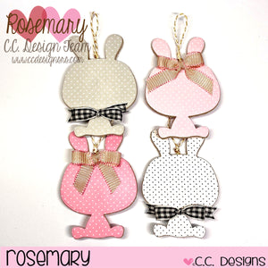 Make A Bunny Ornaments