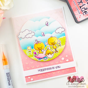 Mix and Match Stamp Sets - Spring Card feat C.C. Designs April & May and Spring Things