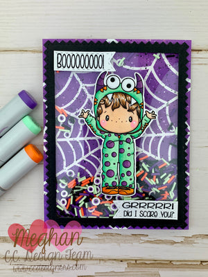 GRRR.... Did I Scare You? Monster Shaker Card
