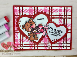 February Facebook Challenge: Hearts & January Winners