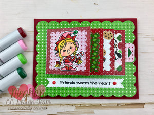 Tiny Christmas Flip Book Tutorial