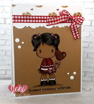 Sweet Holiday Wishes with Swiss Pixie