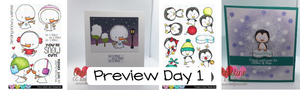 Preview Day 1- Snow Peeps and Penguins