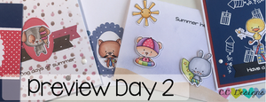 May Preview Day 2: June & July Stamp Set