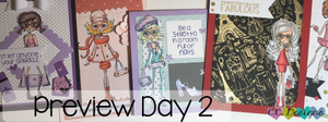 June Preview Day 2: Eloise, Fifi, Isabella, Lily and Zara
