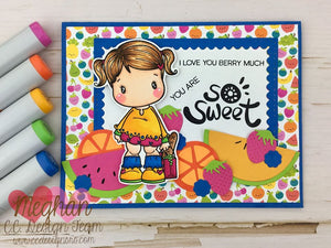 **New To The Market Swissie Clear Stamp Set