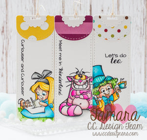 Wonderland Clear Stamp Set