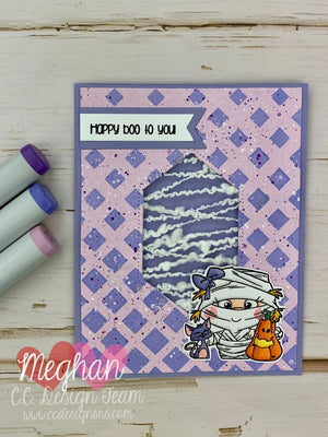 *New Tiny Halloween Clear Stamp Set