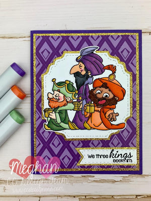 Tiny Wisemen Clear Stamp Set