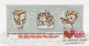 Tiny Angels Clear Stamp Set