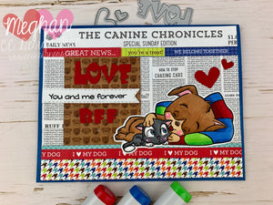 *New Lovey Critters Clear Stamp Set