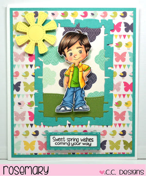 4 Seasons Boys Clear Stamp Set