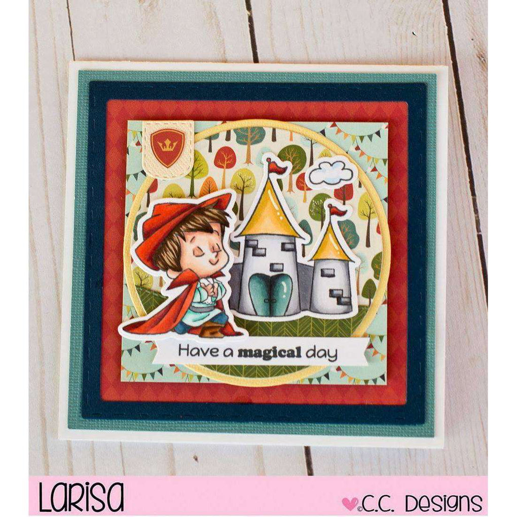 C.C. Designs Rubber Stamps:Adventure Prince Clear Stamp Set