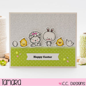 C.C. Designs Rubber Stamps:Banners Accessories Metal Die