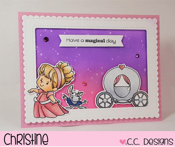 *New Magical Princess Clear Stamp Set