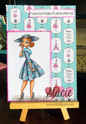 Fashionistas Clear Stamps