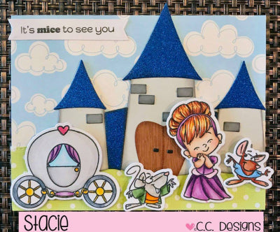 Magical Princess Clear Stamp Set