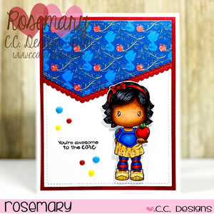 **New Snow Swissie Clear Stamp Set