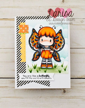*New Butterfly Swissie Clear Stamp Set