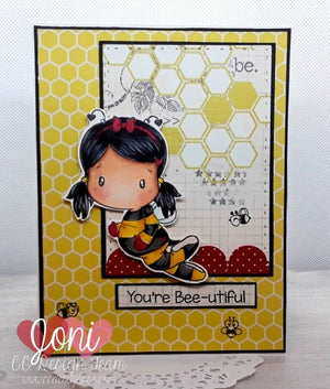 Bee Swissie Clear Stamp Set