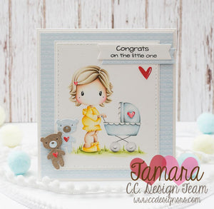 Mommy Swissie Clear Stamp Set