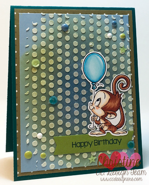 Monkeys Clear Stamps