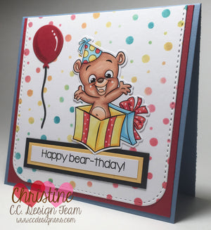 Bears Clear Stamps