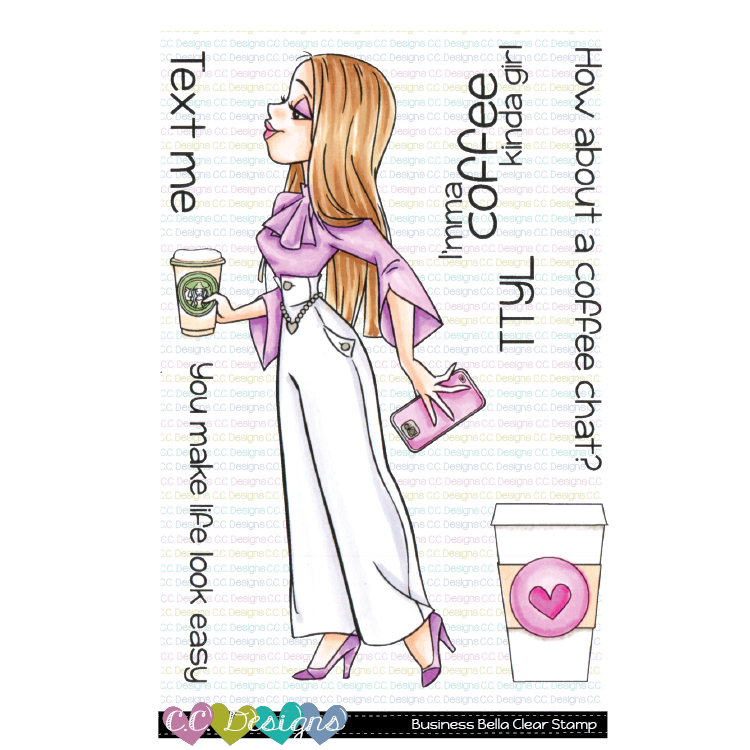 Business Bella Clear Stamps
