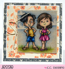 4 Seasons Girls Clear Stamp Set