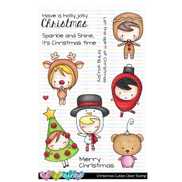 *New Christmas Cuties Clear Stamps
