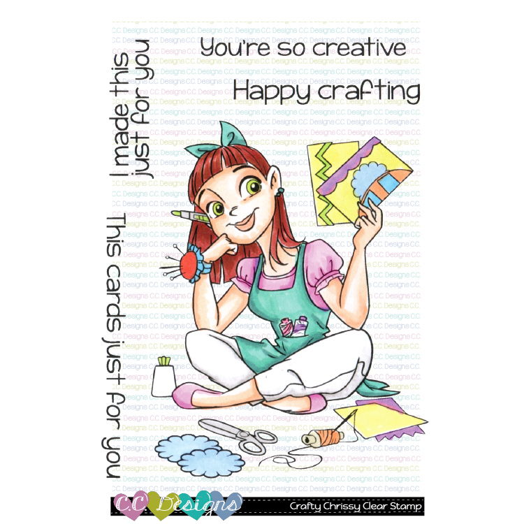 *Crafty Chrissy Clear Stamps