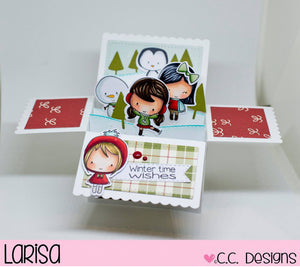 Wintertime Clear Stamp Set