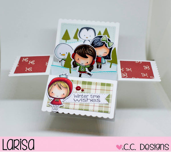 *Wintertime Clear Stamp Set