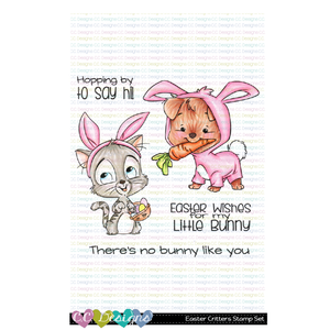 +New Easter Critters Clear Stamp Set