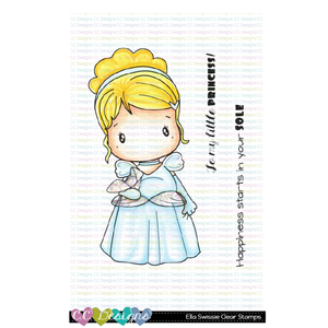 **New Ella Swissie Clear Stamp Set