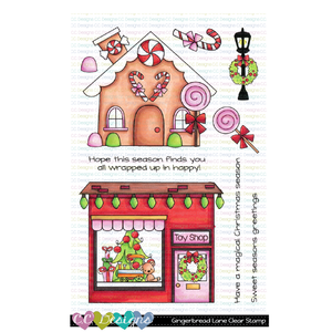 *New Gingerbread Lane Clear Stamps