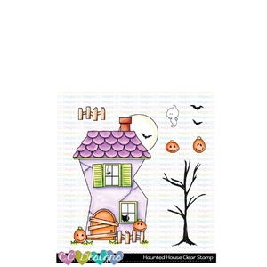 Haunted House Clear Stamp Set
