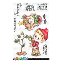 It's a Roberto's Christmas Clear Stamp Set